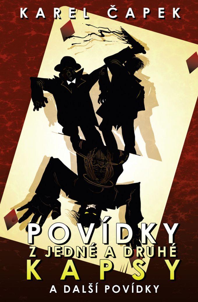 Karel Čapek - Povídky z jedné a druhé kapsy book cover/design