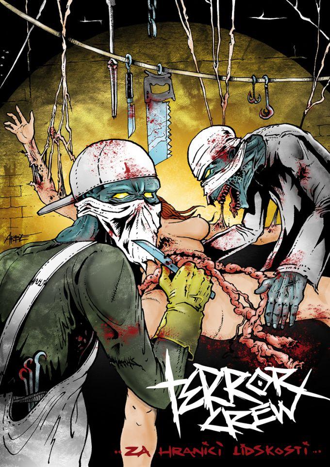 terror crew new cd art