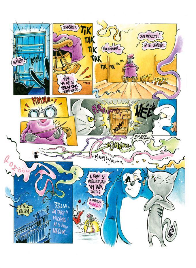 komiks pro magazin Ctyrlistek c.603