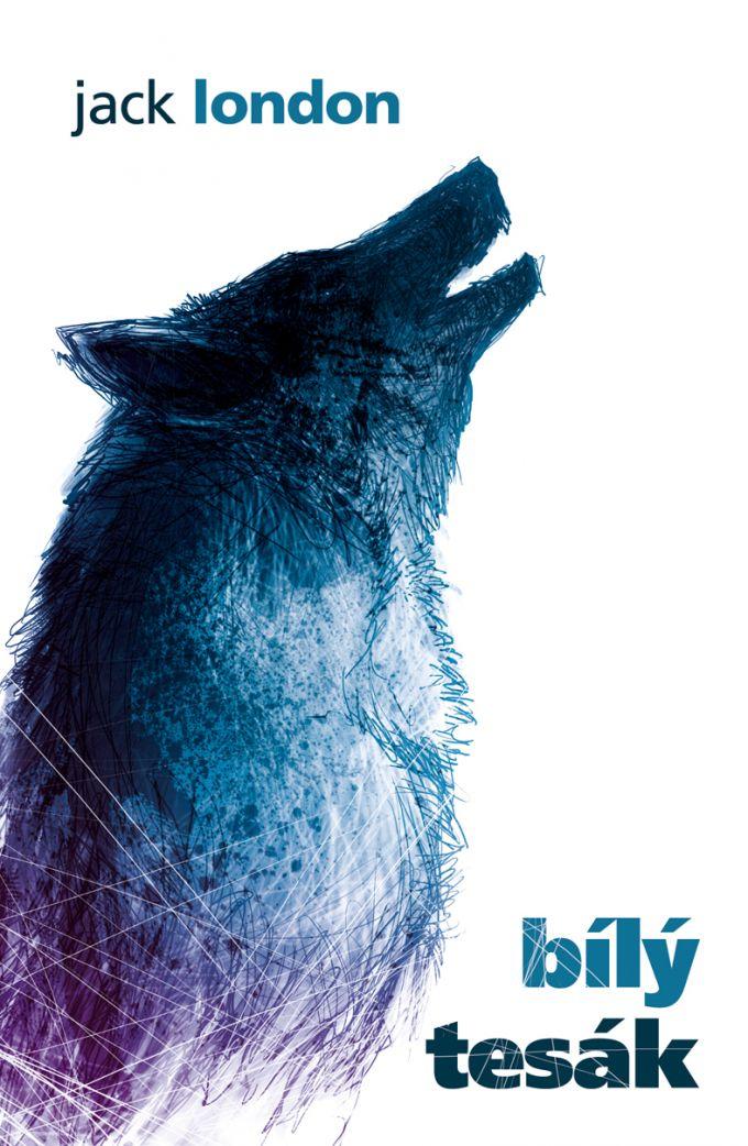 Jack London Bílý tesák /book cover/design