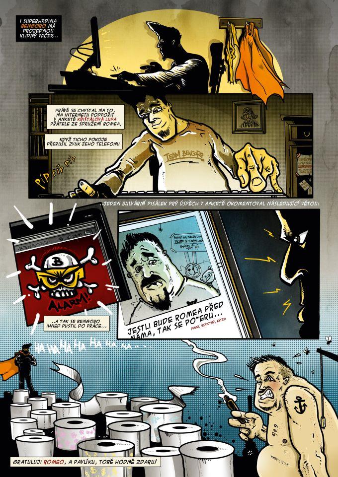 comics pro magazin Romano Vodi 9/2013