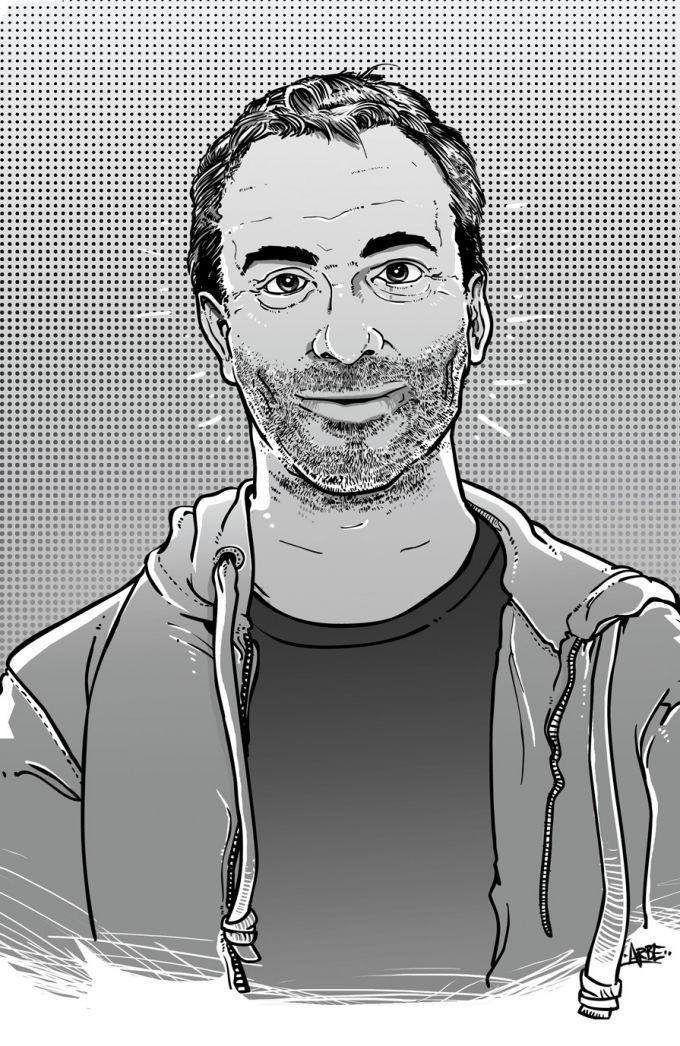 petr vacek - ilustrace pro magazin Romano Vodi