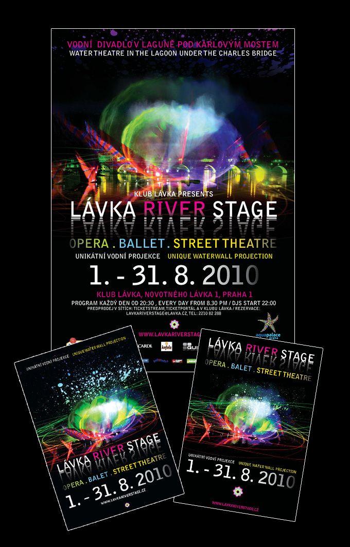 Lavka River Stage vizualy a logotyp