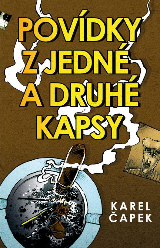 Karel Čapek - Povídky z jedné a druhé kapsy book cover design/illustration
