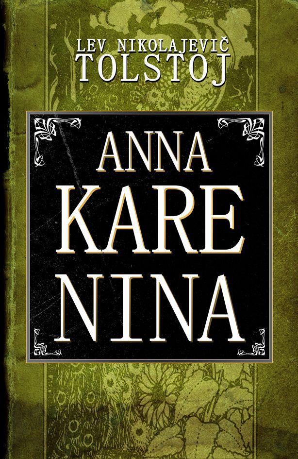 L.N.Tolstoj - Anna Karenina book cover/design