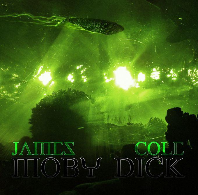 James Cole MOBYDICK cd artwork