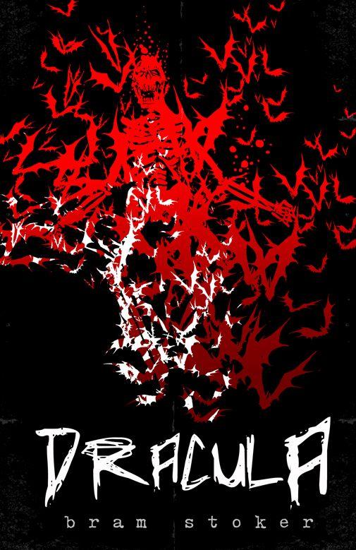 Bram Stoker - Dracula book cover/design