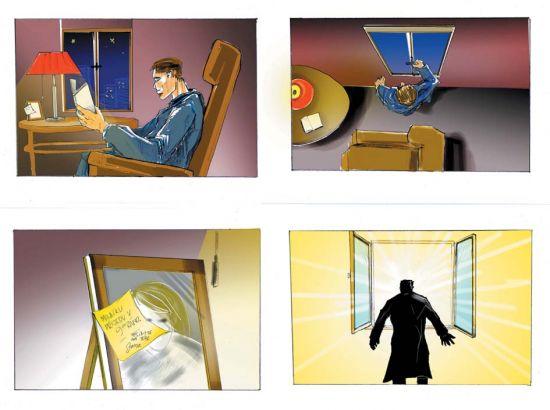 various storyboards