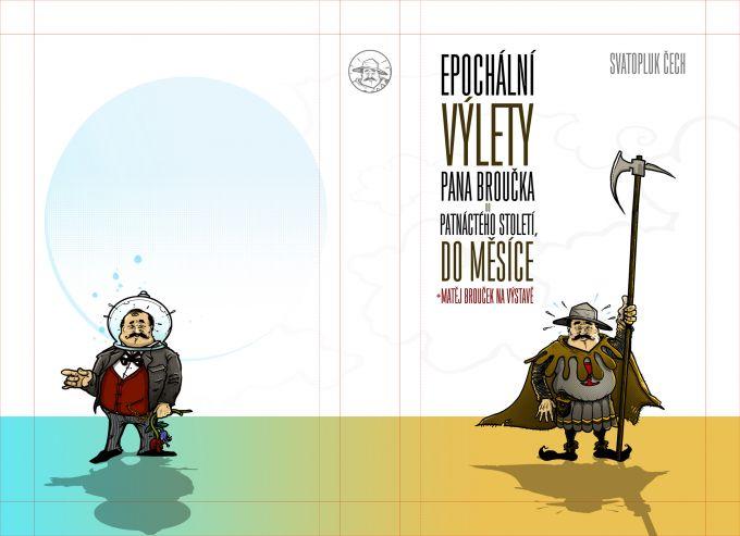Svatopluk Čech - Výlety pana Broučka book cover/design