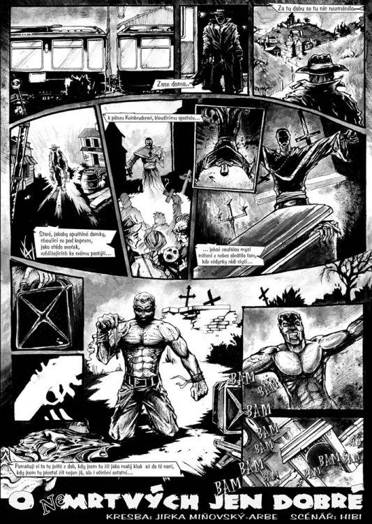 Sborník O (ne)mrtých jen dobré, pg.1