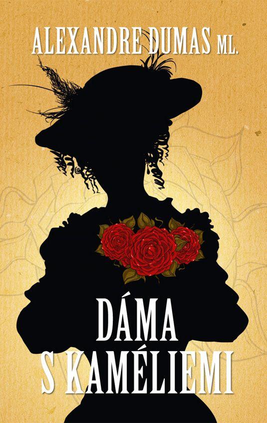 Alexandre Dumas - Dáma s kaméliemi - book cover/design