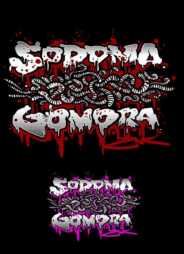 SODOMA GOMORA t-shirt design