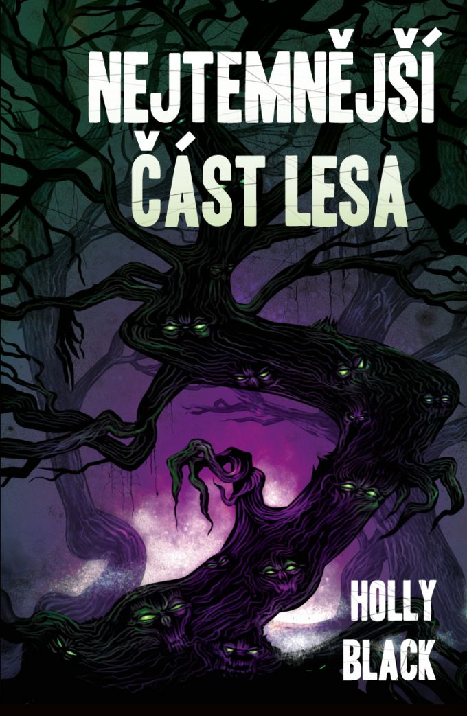 Holly Black - Nejtemnejsi cast lesa - book cover /illustration