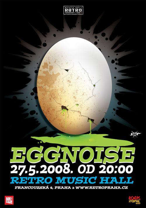 ilustration 4 Eggnoise band concert in Prague