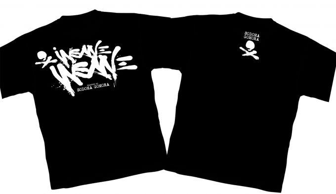 INSANE INSANE t-shirt design Sodoma Gomora