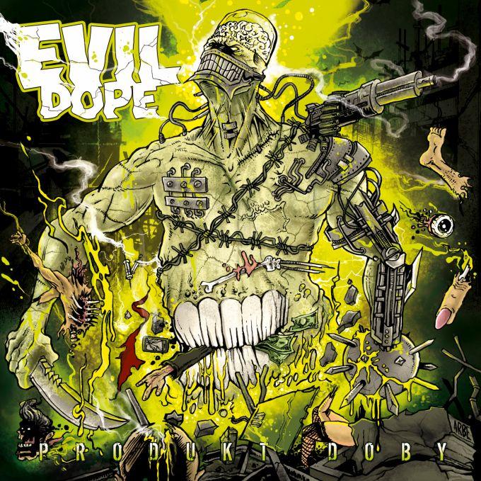 Evil Dope  - Produkt doby CD cover