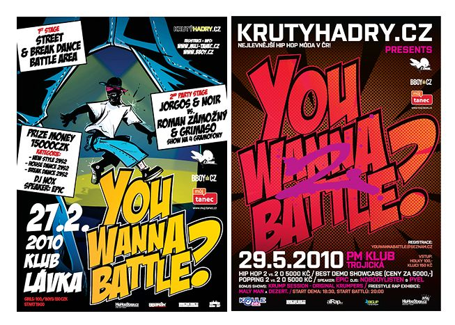 dance battle promo flyers