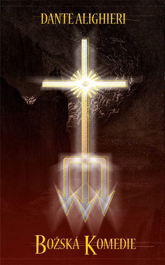 Dante Alighieri - Božská komedie book cover/design