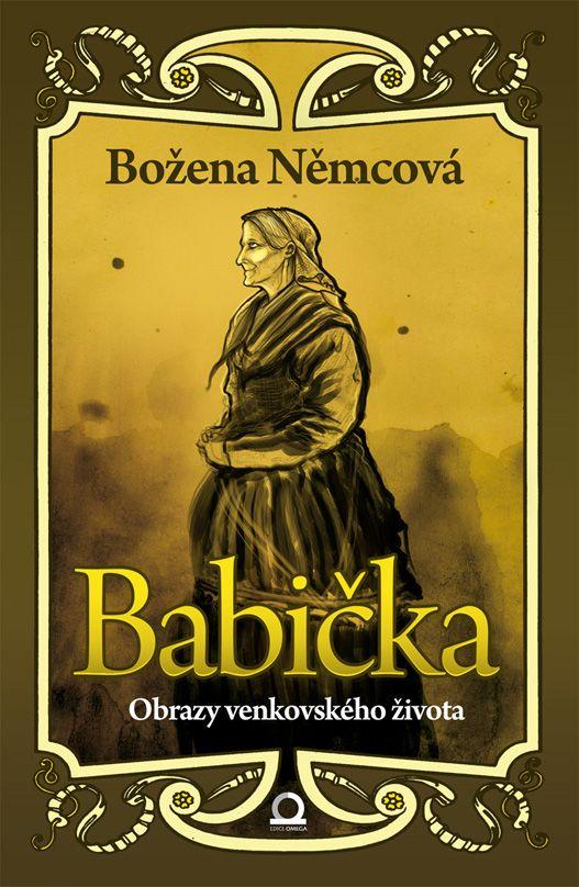 Božena Němcová - Babička book cover/design