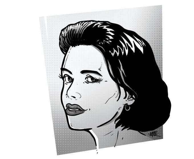 lucie vopálenská - ilustrace pro magazin Romano Vodi