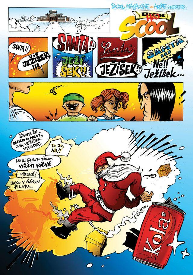 comics pro SCOOL magazín, no.4