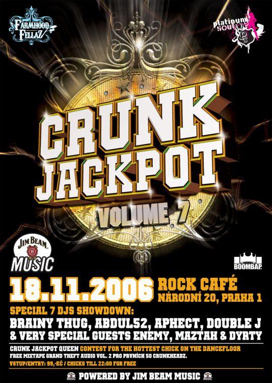 crunk jackpot prague rap nights