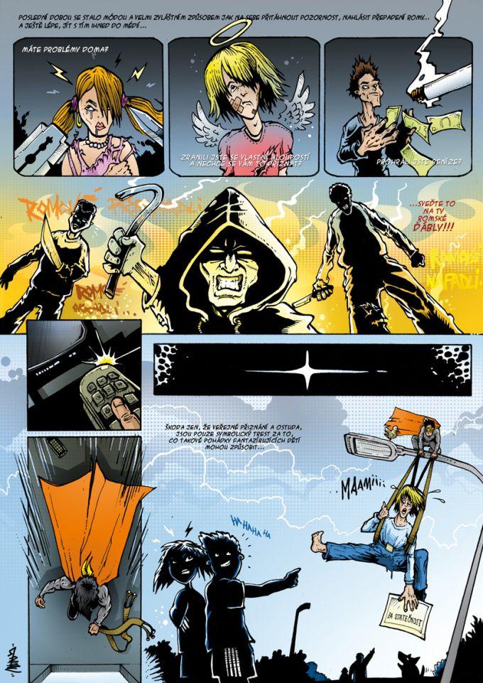 komiks pro magazin Romano Vodi
