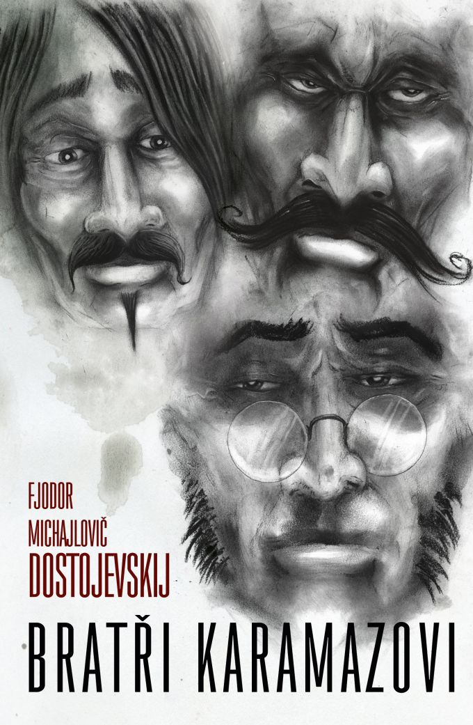 F.M.Dostojevskij - Bratří Karamazovi book cover/illustration