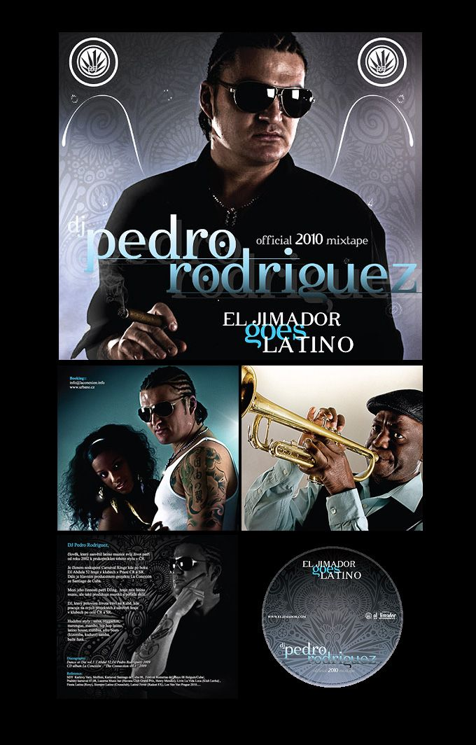 mixtape cover El Jimador goes Latino by DJ Pedro Rodriguez