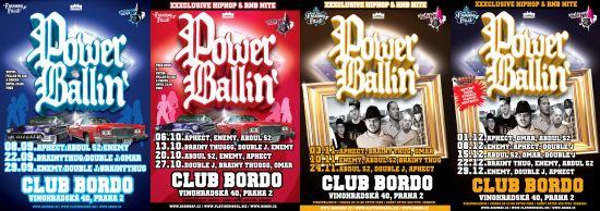 PowerBallin party series, Bordo Club Praha