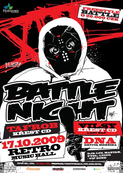 Battle Night XIII Prague promo