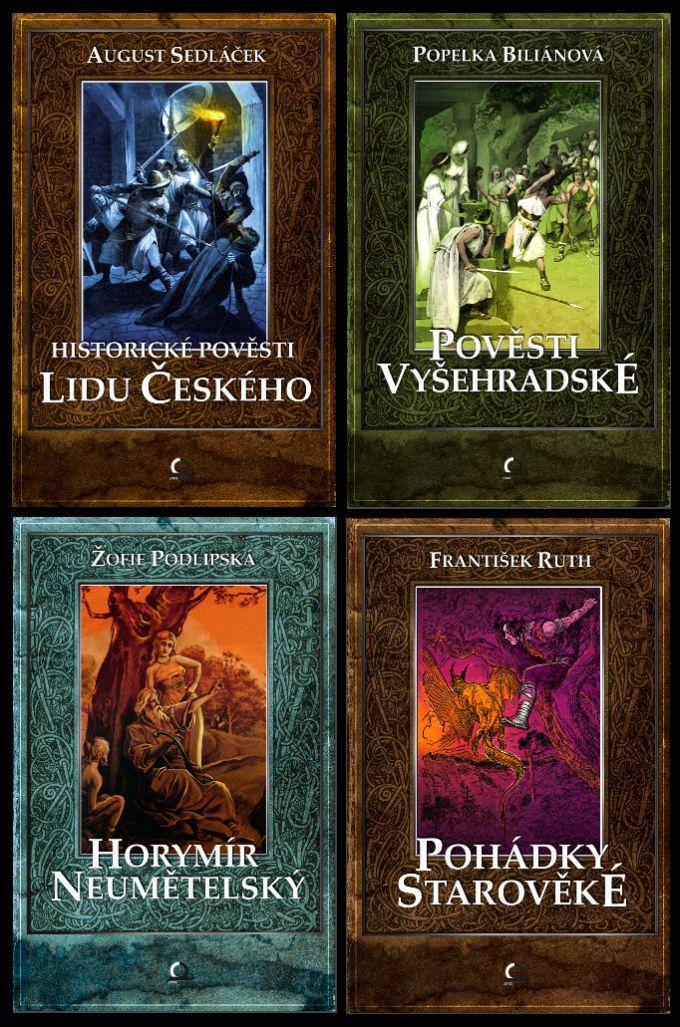 Sbírky pověstí book cover/designs