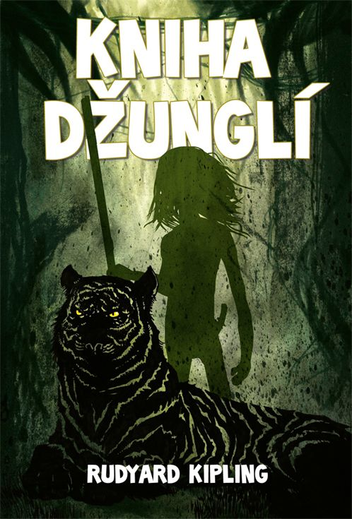 R.Kipling Kniha dzungli - book cover /illustration