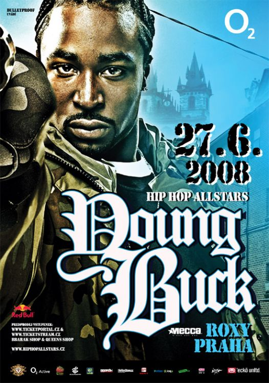 young buck, praha SHOW CANCELLED