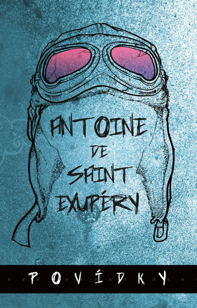 Antoine de Saint-Exupery - Pov�dky - book design/illustration