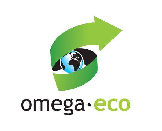 logotyp svycarske firmy Omega ECO