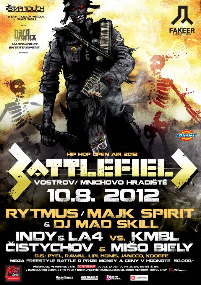 Battlefield hip hop open air 2012