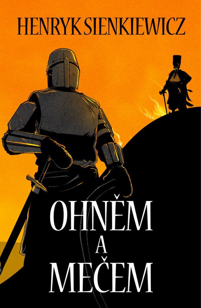 Henryk Sienkiewicz - Ohněm a mečem  book cover/design