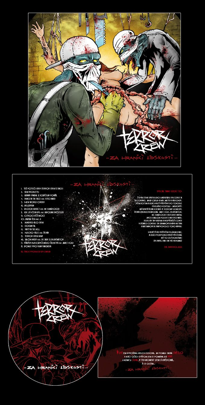terror crew cd layout