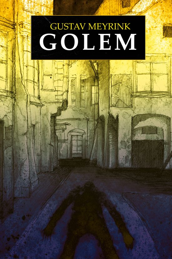 G.Meyrink Golem - book cover /illustration