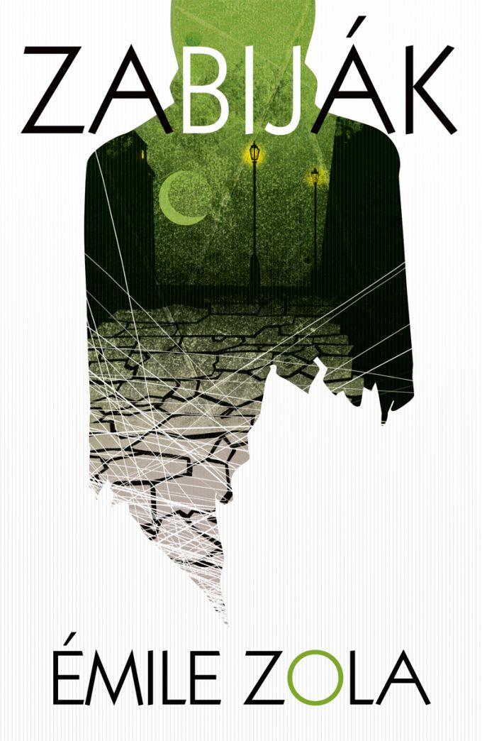 �mile Zola - Zabij�k 2nd print  - book design/illustration