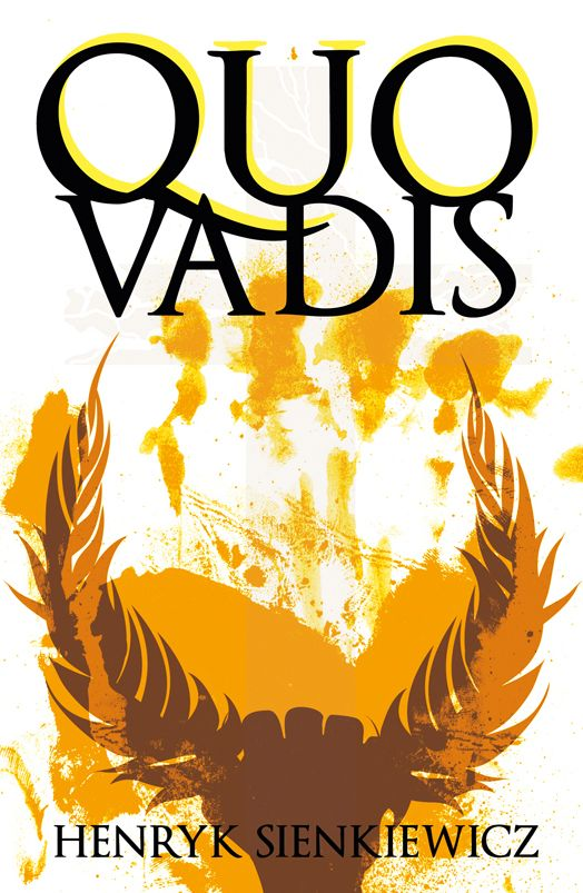 Henryk Sienkiewicz Quo Vadis  book cover/design