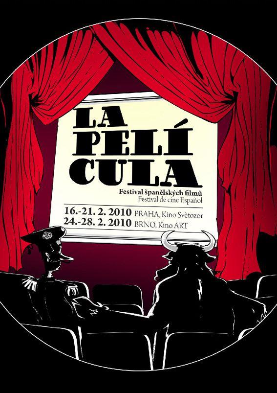 nepoužitý vizuál festival španělských filmů La Película