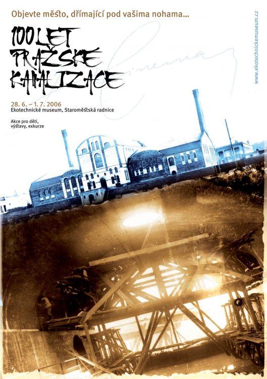 výročí 100 let pražské kanalizace, Ekotechnické muzeum, var. A