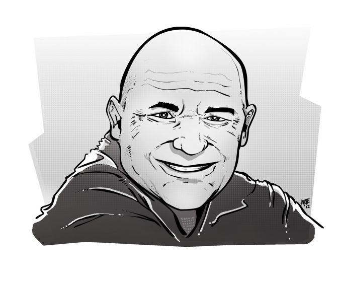 jan bárta - ilustrace pro magazin Romano Vodi
