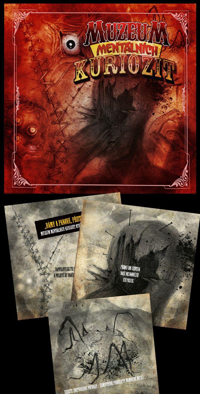 Reznik - Muzeum mentalnich kuriozit CD cover