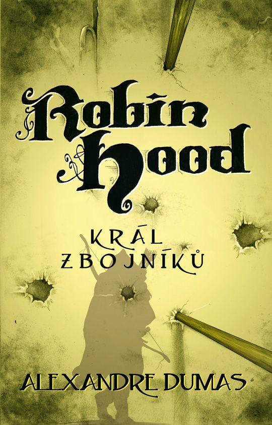 Alexandre Dumas Robin Hood /book cover/design/illustration