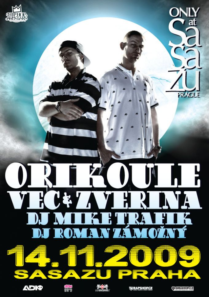 Orikoule Sasazu Praha poster