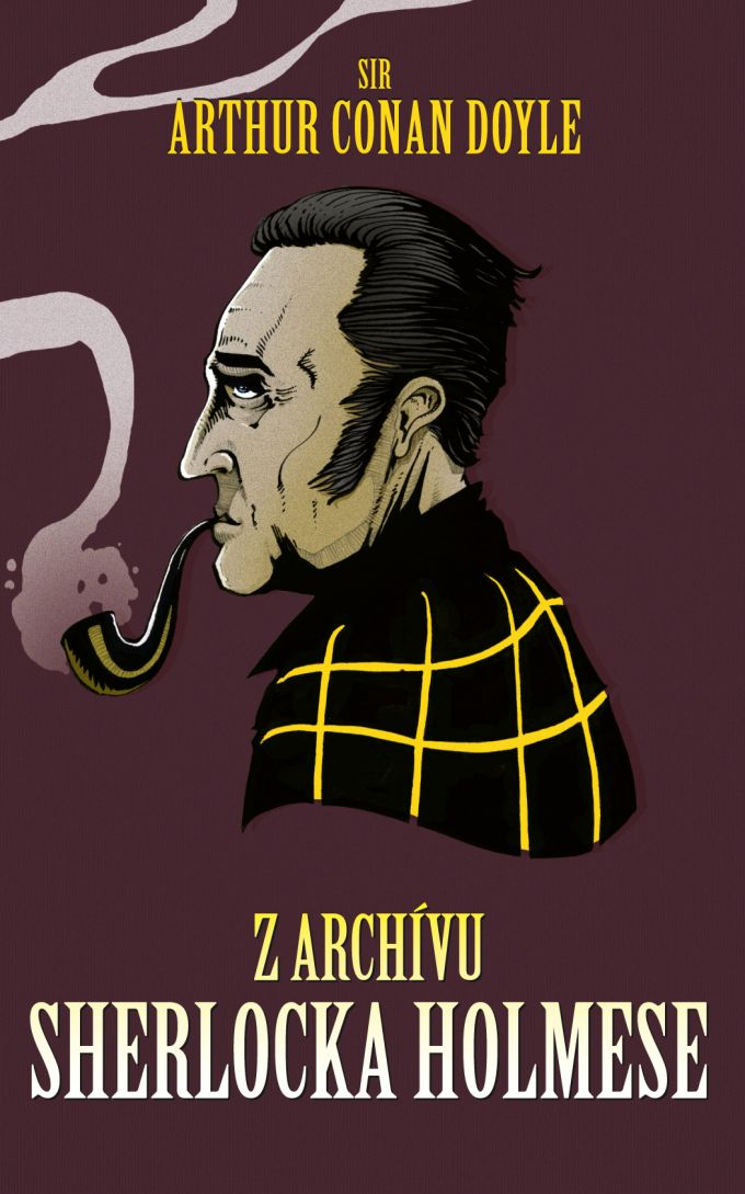 A.C.Doyle Z archivu Sherlocka Holmese /book cover/design
