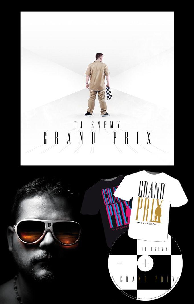 DJ ENEMY GRAND PRIX cd art & merchandise